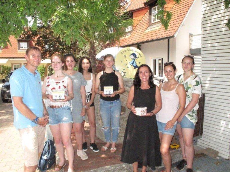 Spendenaktion Edith-Stein-Gymnasium/Speyer für das Kinderhospiz Sterntaler