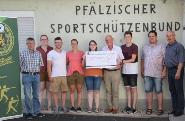 Spendenaktion der Pfälzischen Schützenjugend