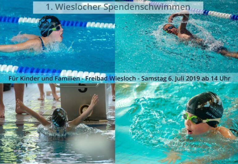 Spendenschwimmen der TSG Wiesloch