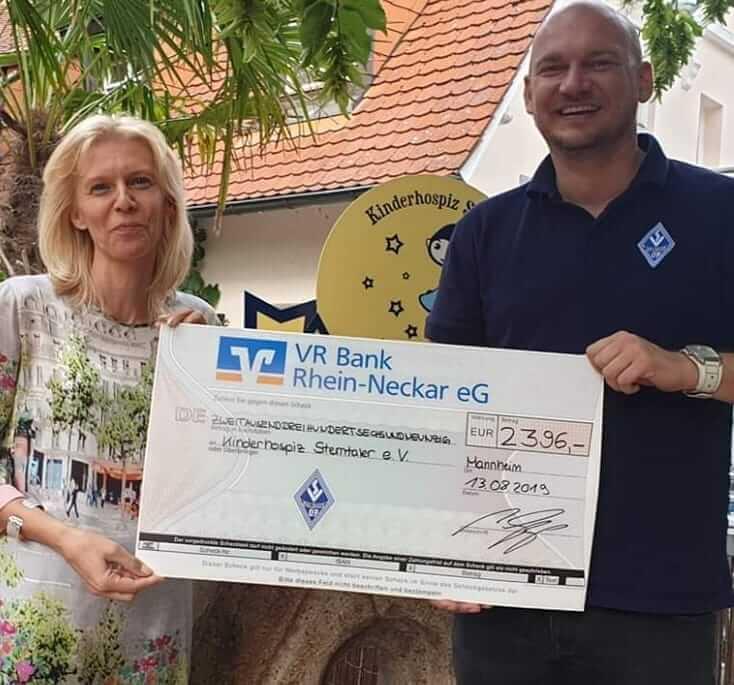 Spendenaktion des SV Waldhof Mannheim 07 und seiner Fans