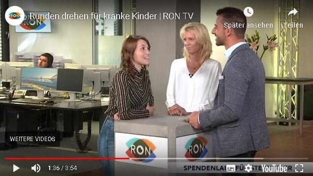RON TV kündigt 6. Sterntaler-Spendenlauf an