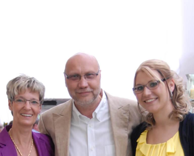Weihnachtsspende von Familie Jünger und dem BVS-Team