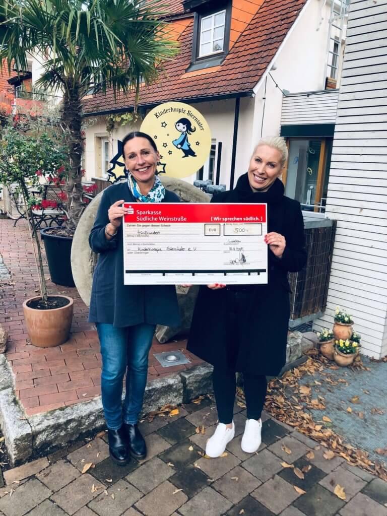 Firma Baumann unterstützt erneut das Kinderhospiz Sterntaler