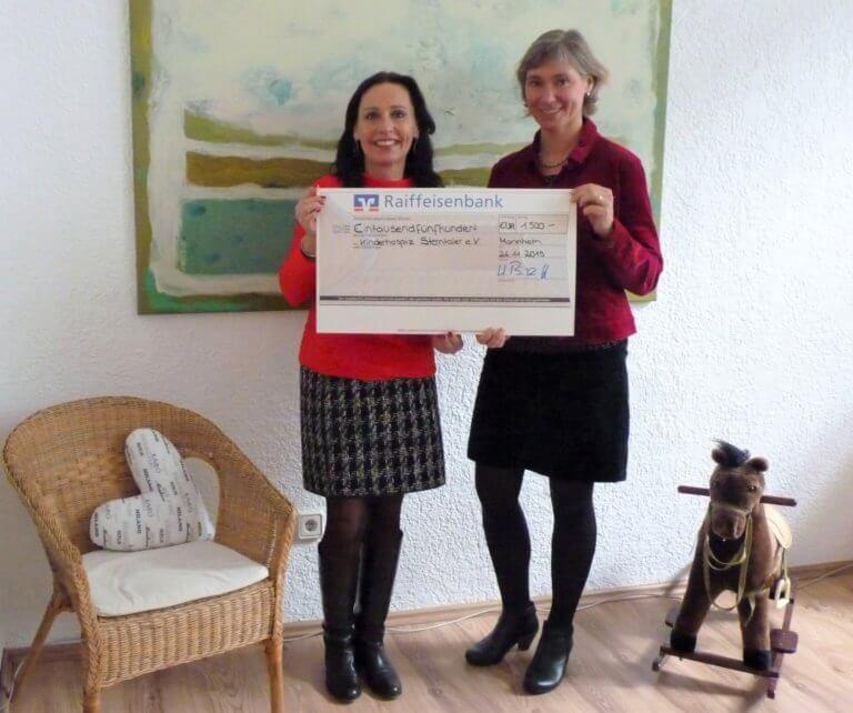 Spenden statt Schenken – CWK IT Consulting unterstützt Kinderhospiz Sterntaler