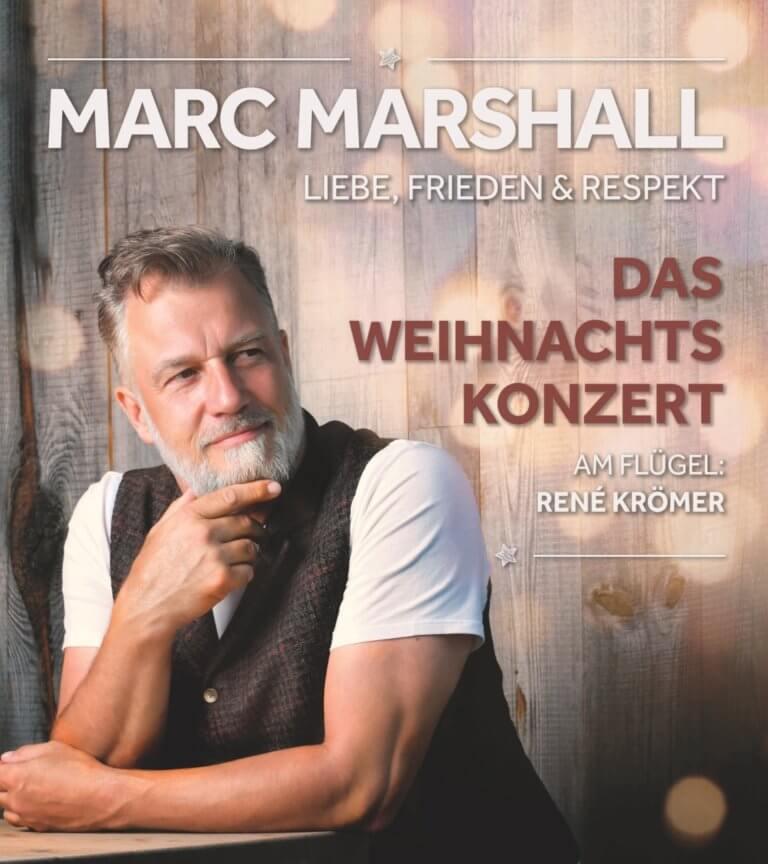 Marc Marshalls Rosen-Symbol von LIEBE FRIEDEN und RESPEKT