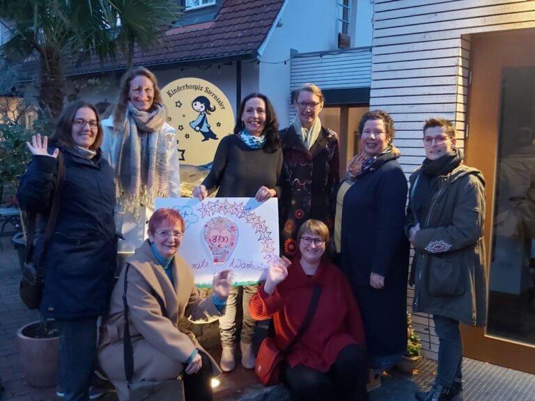 Frauennetzwerk Desperate Workwives unterstützen das Kinderhospiz Sterntaler