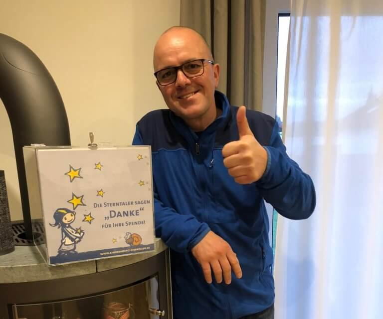 Günther Heilers Geburtstagsspende