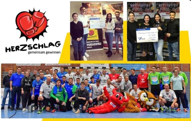 Handball Allstars Spiel in Nußloch mit überragendem Erfolg