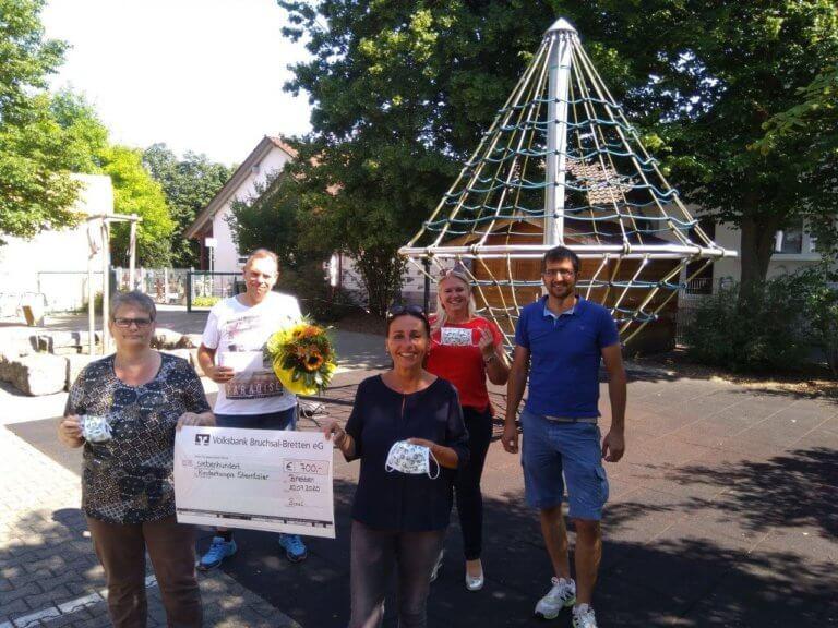 Fördervereins Grundschule Gölshausen e.V. übergibt Spende ans Kinderhospiz Sterntaler