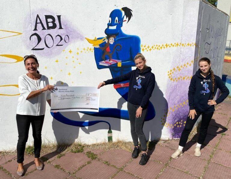 Abiturientenjahrgang 2020 der Nelly-Sachs IGS spendet an Sterntaler