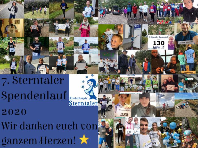 DANKE an über 385 Spendenläuferinnen, Läufer sowie deren Sponsoren und Unterstützer