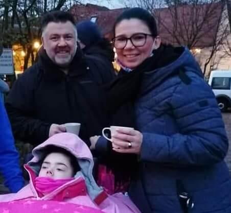 Liebe Adventsgrüße von unseren Kindern, Mamas und Papas aus dem Kinderhospiz Sterntaler 🌟