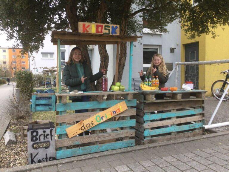 Engagierte Spendenaktion von Anna Rödelsperger und Frida Balles