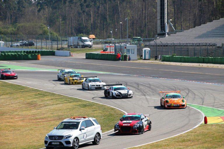 Sterntaler auf dem Hockenheimring in der Pole Position
